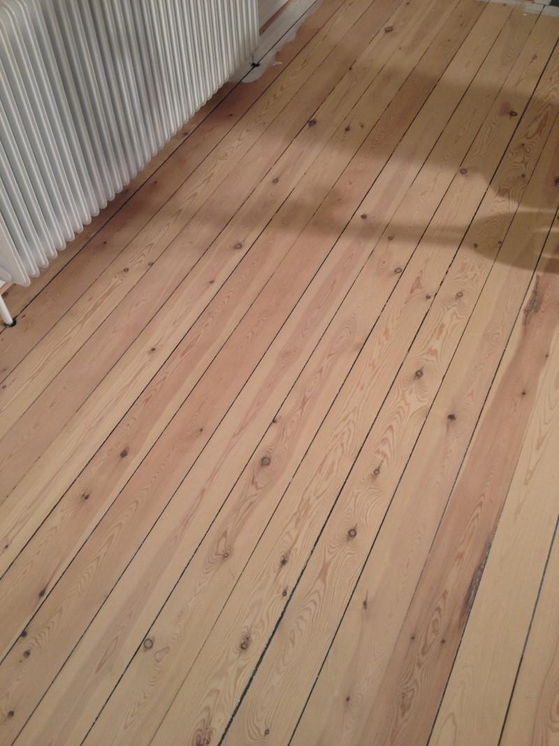 Ekstra Fyrtræs gulv afs. til hvid olie + lak BV68
